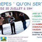 Crèpes «Qu'on sert» – 20 juillet