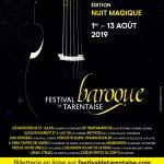 Festival Baroque de Tarentaise – 2 aout