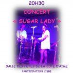 Concert «Sugar Lady» – 16 Aout