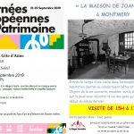 Journées Européennes du Patrimoine – Balade musicale – 21 septembre