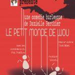 DIMANCHE 13 OCTOBRE THÉÂTRE «LE PETIT MONDE DE WOU»