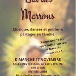 Dimanche 17 Novembre BAL DES MARRONS