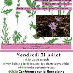 Journée sur le thème des Plantes comestibles