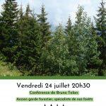 Conférence sur «La forêt de Savoie» de 1860 à 2060