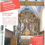 Mardi 3 Août «Les coulisses du Festival» à l'église de Valezan